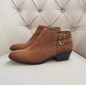 Sam Edelman | Petal Leather Ankle Booties | 9.5